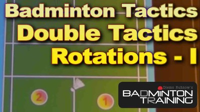 Badminton Double Rotation