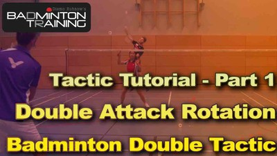 Badminton Double Rotation Tutorial
